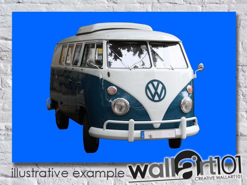 CA0080 VW Camper Van - Blue